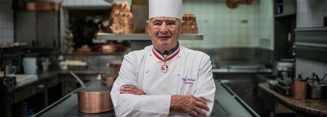 Paul Bocuse, l'empereur de la cuisine française, est mort