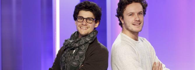 Tristan Petit et Cyriac Lefort, génération «start-up nation»