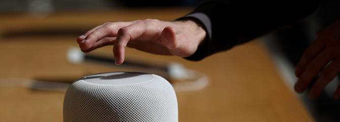 Les marques du HomePod d'Apple sur les meubles en bois font jaser Internet