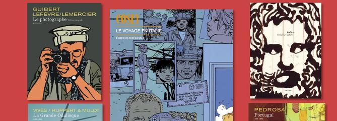 Cosey, Sfar, Guibert.... la collection Aire Libre a 30 ans et abrite 200 auteurs prodigieux