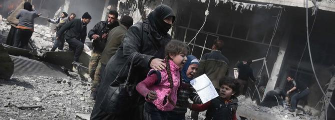 Ghouta orientale : des négociations derrière l'enfer des raids aériens