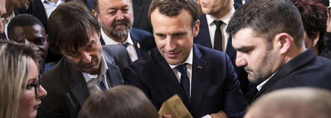 Baptême du feu pour Macron au Salon de l'agriculture
