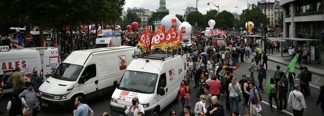 Grèves et manifestations : une semaine sociale chargée s'ouvre