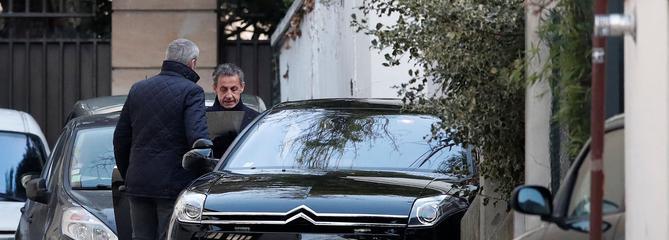 Financement libyen: deuxième jour de garde à vue pour Nicolas Sarkozy