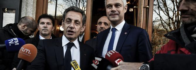 Garde à vue de Sarkozy : la droite appelle au respect de la présomption d'innocence