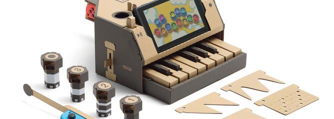 Avec Nintendo Labo, le jeu vidéo fait un carton
