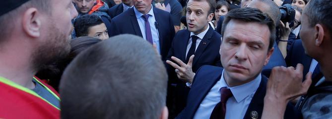 Macron ne voit pas de «convergence des luttes»
