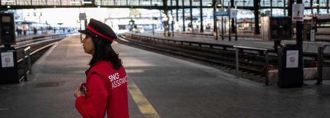 Grève à la SNCF : 40% des TGV et des TER en circulation