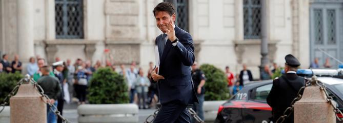 Italie : Giuseppe Conte désigné chef du gouvernement