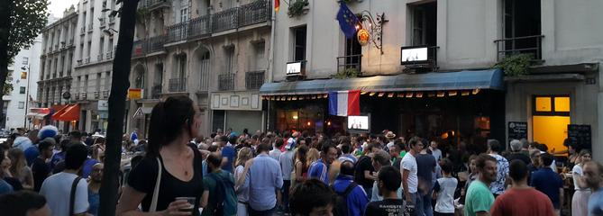 Coupe du monde 2018: les bars et restos où voir les matchs à Paris