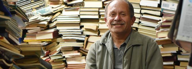 À Bogota, l'éboueur devenu «seigneur des livres»