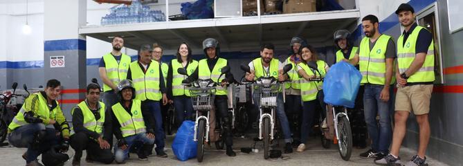 Des réfugiés pour le recyclage à Beyrouth