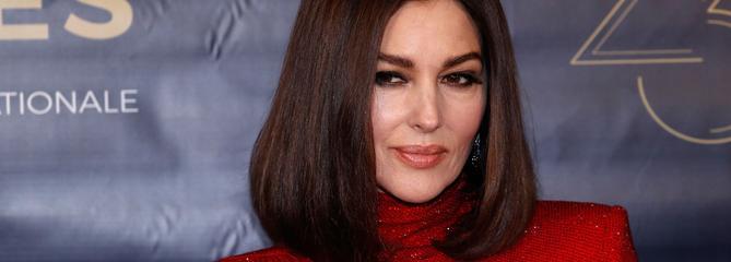 Monica Bellucci, présidente glamour du 29e Festival du film de Dinard
