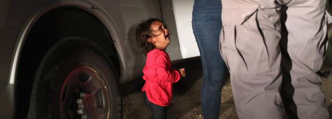 Aux États-Unis, l'icône des enfants séparés n'en était pas une