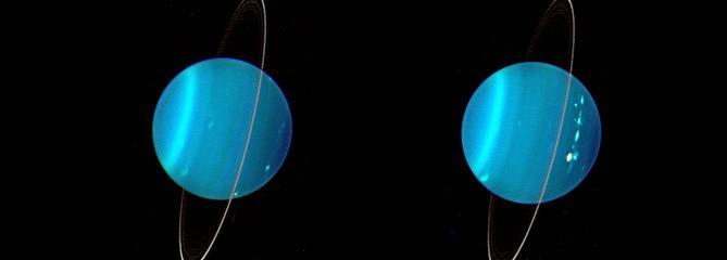 Uranus, la planète couchée, aurait été renversée par un chauffard cosmique