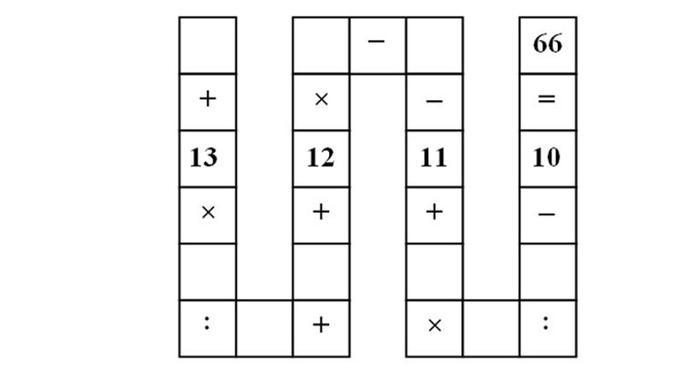 Les cases vides ne peuvent être comblées que par des chiffres de 1 à 9. Pour le reste il s'agit d'opérations arithmétiques basiques.