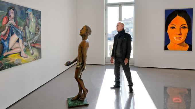 Rétrospective de l'artiste «Martial Rayse» qui déploie son oeuvre sur les 3 niveaux du Palazzo Grassi.