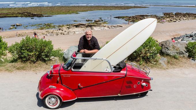 Les ouvrages d'Alain Gardinier sont devenus une référence pour les passionnés de surf: un sport symbole de liberté mais dont les nombreux codes ne sont pas toujours simples à décrypter.