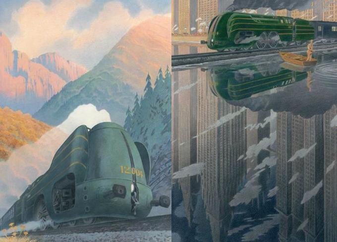 «J'ai voulu construire une légende à cette locomotive», François Schuiten.