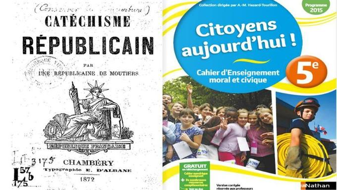 Du «catéchisme républicain» de la Troisième République au manuel d'éducation civique.