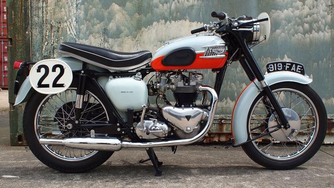 Le premier modèle de Bonneville, lancé en 1959.