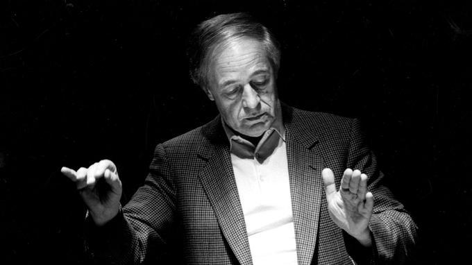 Pierre Boulez, en 1987.