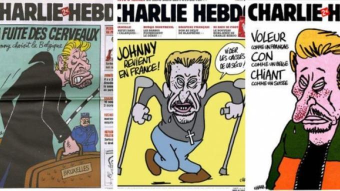 Les couvertures de <i>Charlie Hebdo</i>.