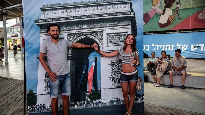 Chaque 14 juillet, la municipalité de Netanya participe aux célébrations de la fête nationale française.