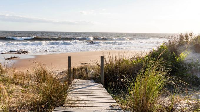 Jose Ignacio et son ambiance bohême est devenu le rendez-vous de la jet set latino venue rechercher la quiétude de la mer au réveil et la sérénité de la plage.