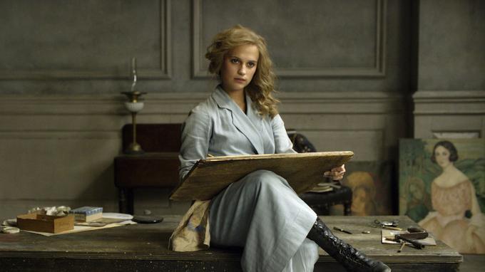 Alicia Vikander dans <i>The Danish Girl</i>.