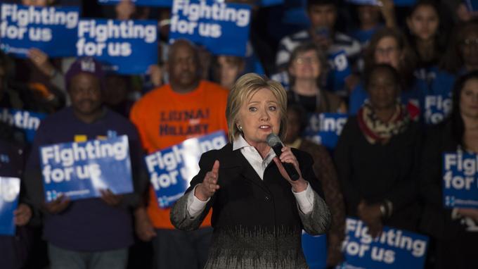 Hillary Clinton s'adresse à la communauté afro-américaine le 7 mars à Detroit.