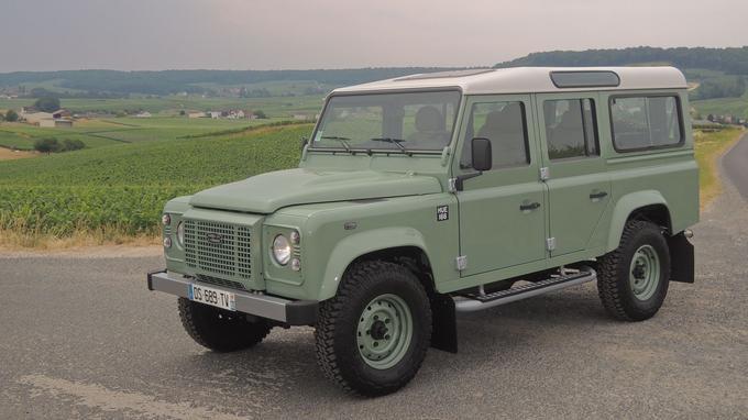 La série limitée Land Rover Defender Heritage est disponible en plusieurs variantes de carrosserie.