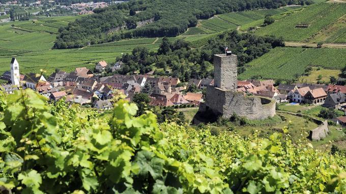 Katzenthal est situé à une dizaine de kilomètres à l'ouest de Colmar, dans les premiers contreforts vosgiens.