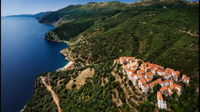Beli, le «caput insulae» (tête de l'île) des Romains, commandait le passage des galères entre Cres et Krk.