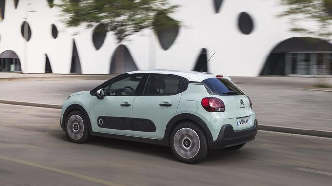 Comme sa devancière, et contrairement à la Peugeot 208, la C3 est disponible uniquement en 5 portes.