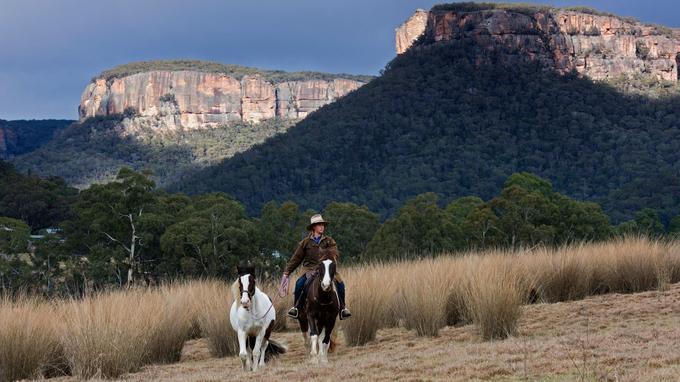 Le cheval est parfaitement adapté à ces grands espaces. Stanislas Fautré / Le Figaro Magazine