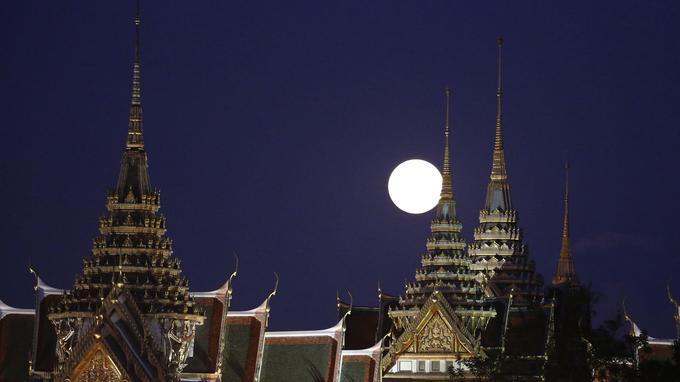 Le phénomène visible en Thaïlande.