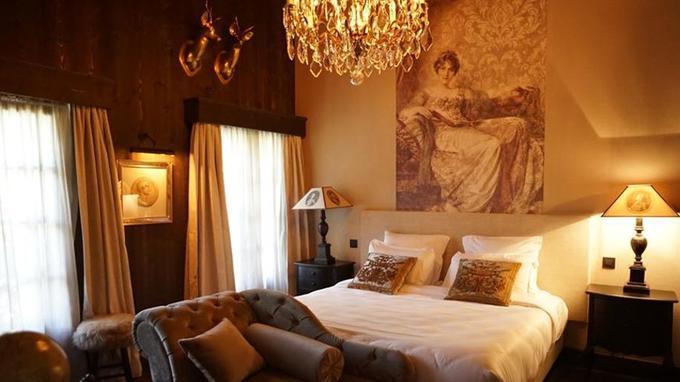 Une des nouvelles chambres du Castel. © Thomas Bekker
