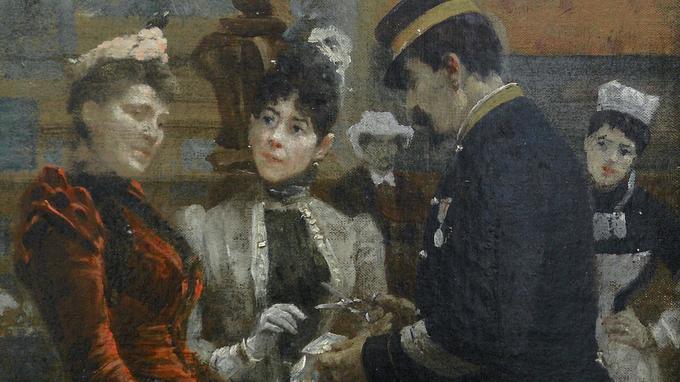 Tableau de Louis Béroud, peint en 1889. Crédit: L'art au présent.