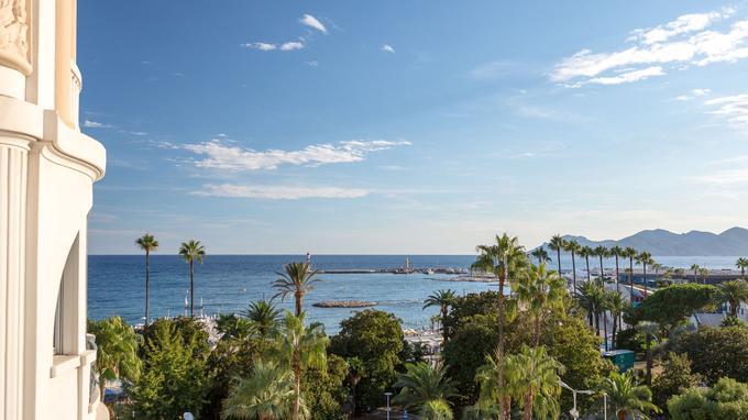 Depuis l'hôtel, une vue dont on ne se lasse pas. © Pascal Pronnier