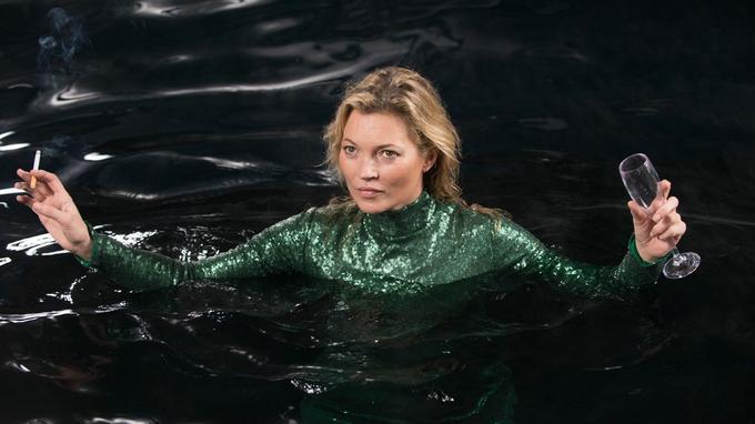 Kate Moss, tombée dans la Tamise...