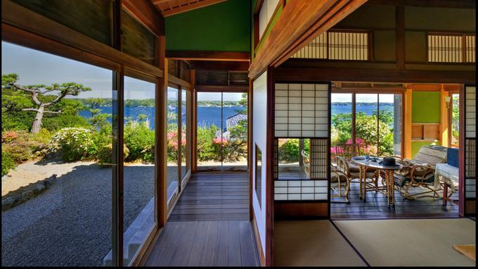 L'intérieur de la maison de Kokichi Mikimoto, inventeur de la culture des perles sphériques.