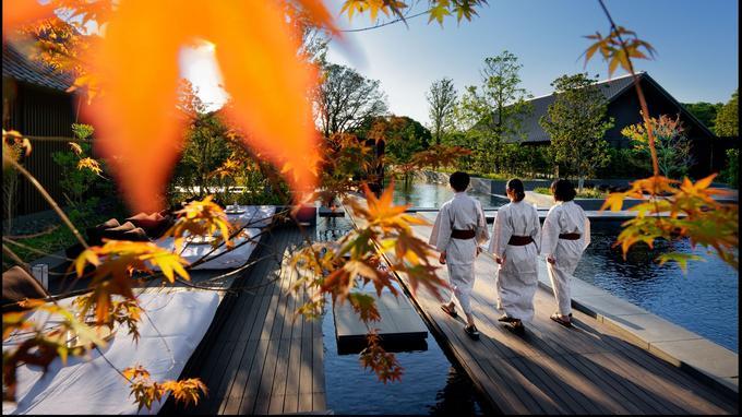 Les bassins thermaux de l'Amanemu inauguré en mars dernier dans le Parc national d'Ise-Shima.