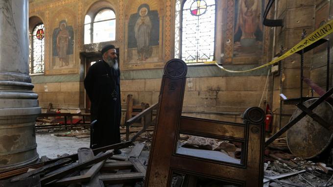 Les Coptes ont été la cible d'attaques en Egypte par le passé.