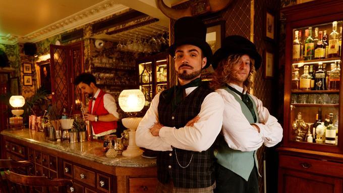 Mr. Fogg's, un pub situé à Londres inspiré de l'univers de Jules Vernes.