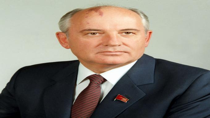 Portrait officiel du secrétaire général du Parti communiste de l'Union soviétique en 1986