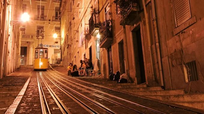Dans le bairro alto. © OT du Portugal