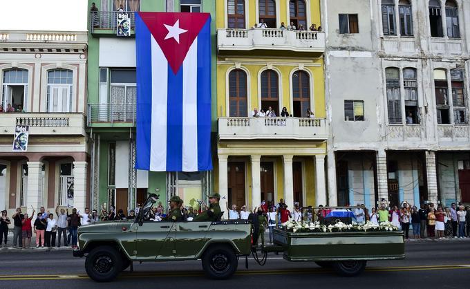 Les cendres de Fidel Castro ont parcouru l'île de Cuba du 1er au 3 décembre.