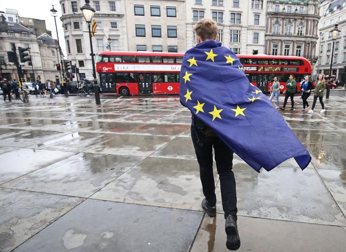 Le 28 juin 2016, Trafalgar Square, à Londres (Royaume-Uni).