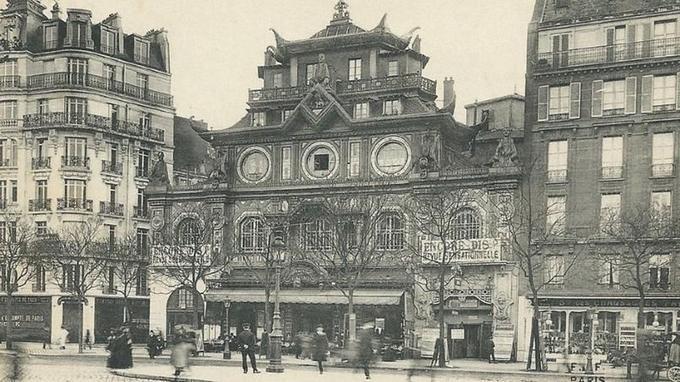 Le Bataclan en 1865.